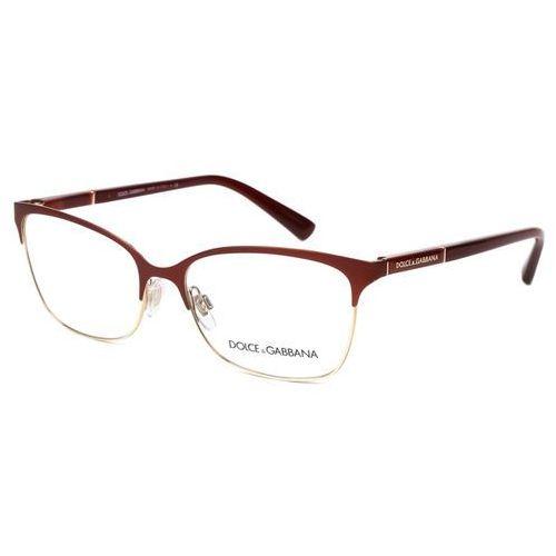 Okulary Korekcyjne Dolce & Gabbana DG1268 Logo Plaque 1255