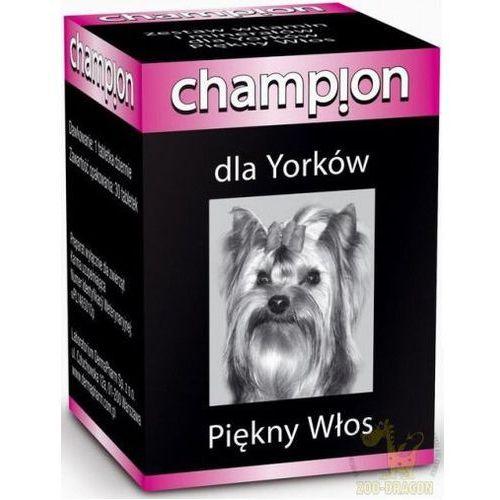Champion Witaminy dla Yorkshire - Piękny Włos 30tab.