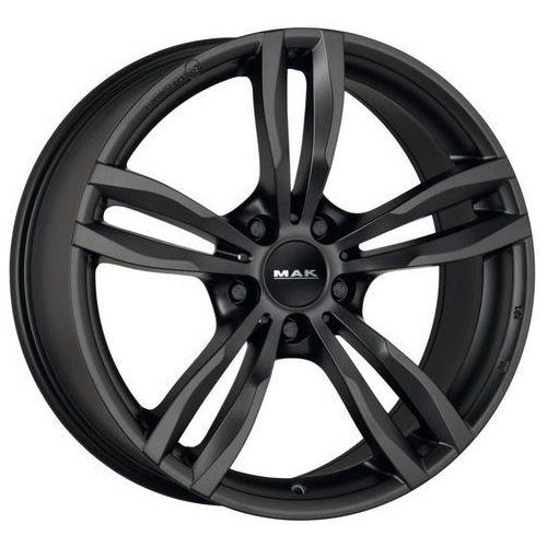 luft matt black 7.50x17 5x120 et37, dot marki Mak