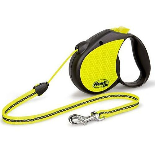 Flexi Smycz  neon cord medium