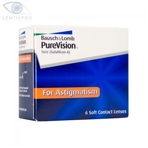 PureVision Toric for Astigmatism 6szt. soczewek, 81