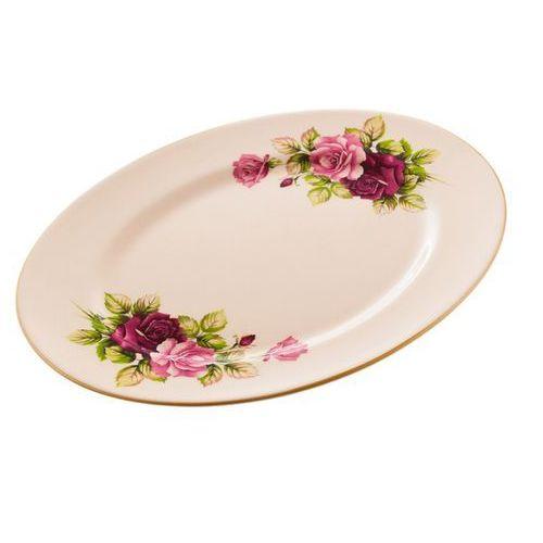 Mieroszów Półmisek talerz róża serwis obiadowy