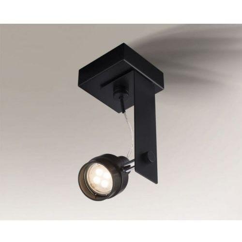 Shilo Gero reflektor 2204/gu10/cz 21cm czarny