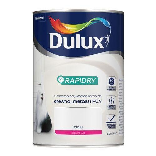 Dulux Emalia akrylowa rapidry biała satynowa 1 l