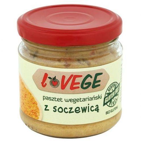 Pasztet wegetariański z soczewicą Lovege 180g z kategorii Przetwory warzywne i owocowe