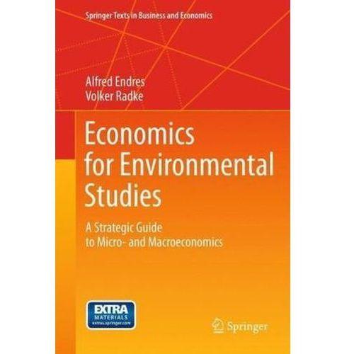 Economics for Environmental Studies (9783642311925)