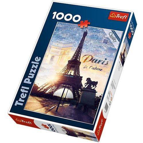 Puzzle 1000 Paryż o świcie (5900511103946)