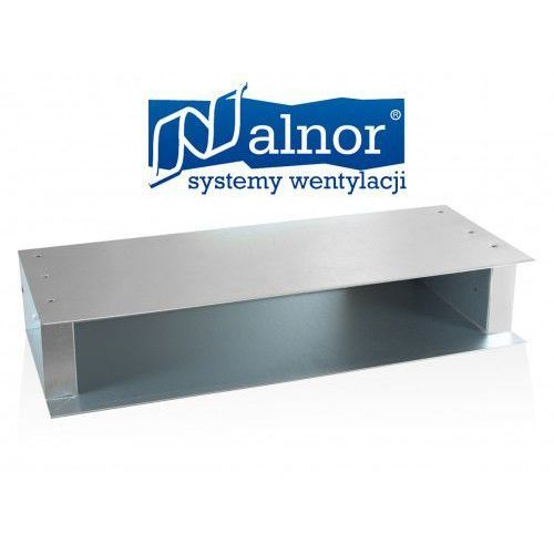 Skrzynka rozprężna do nawiewnika liniowego, 3 szczelinowego 990mm (pr-lds-3-990-u) marki Alnor