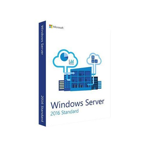 Microsoft Windows server 2016 standard (2 cores) 32/64 bit
