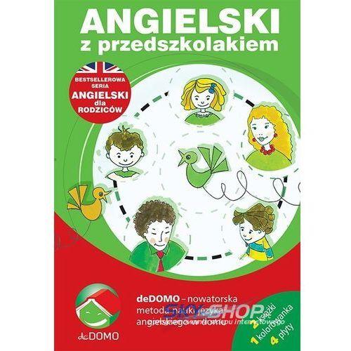 Angielski z przedszkolakiem. Pakiet 3 książek + 4 CD, lingo