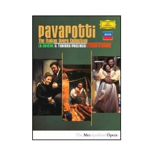 The Italian Opera Collection (DVD) - Luciano Pavarotti