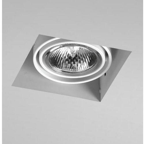 Oczko squares 50x1 trimless białe szybka realizacja, 35511-0000-t8-ph-03 marki Aquaform