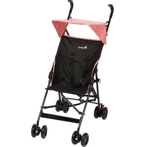 wózek z daszkiem peps, czarno-różowy, 1182326000 marki Safety 1st