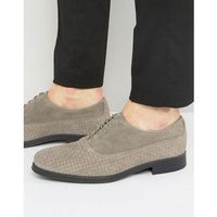 oliver woven suede shoes - grey marki Selected homme