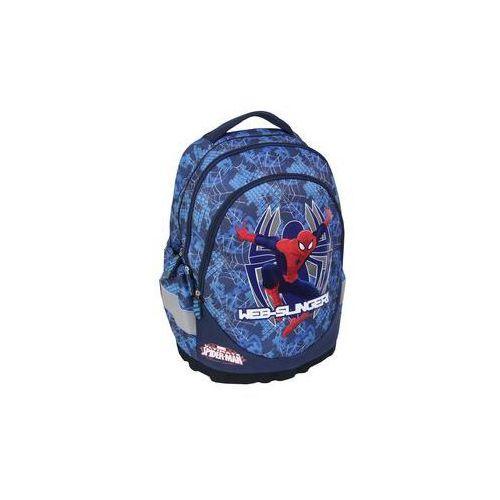 Plecak ergonomiczny 3-komorowy niebieski Spiderman - MST Toys (3850289012815)