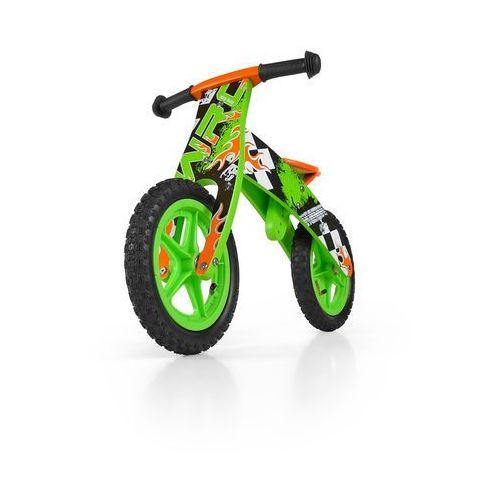Milly mally rowerek biegowy flip, zielon