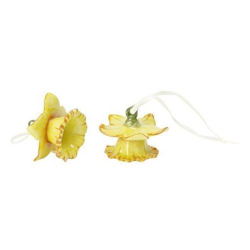 - mini flower bells komplet zawieszek porcelanowych - żonkile marki Villeroy & boch