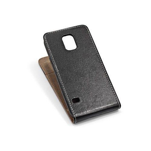 Samsung galaxy s5 mini - etui na telefon - czarny marki Forcell slim flexi