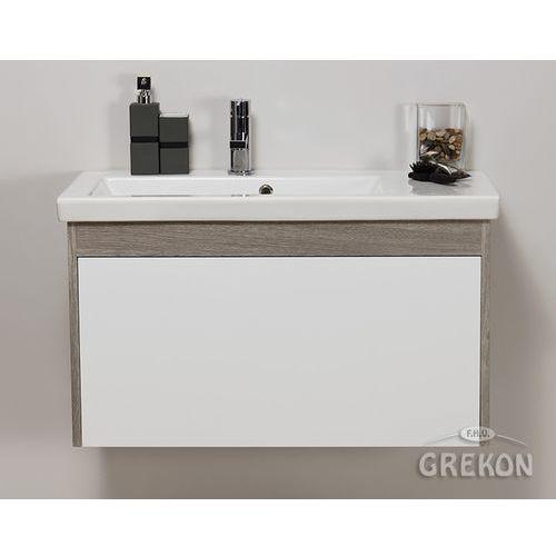 Szafka łazienkowa z umywalką 85/40 seria platum b marki Gante