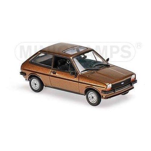 Minichamps Ford fiesta 1976 (light brown metallic) (4012138134911)