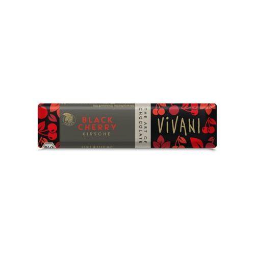 Vivani Baton z kawałkami wiśni bio 35 g -  (4044889002522)