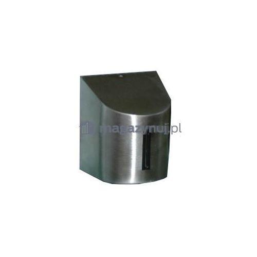 Rozwijana taśma ostrzegawcza + kaseta midi magnetyczna, ze stali nierdzewnej, zapięcie przeciwpaniczne (długość 4,6m) od producenta Tensator