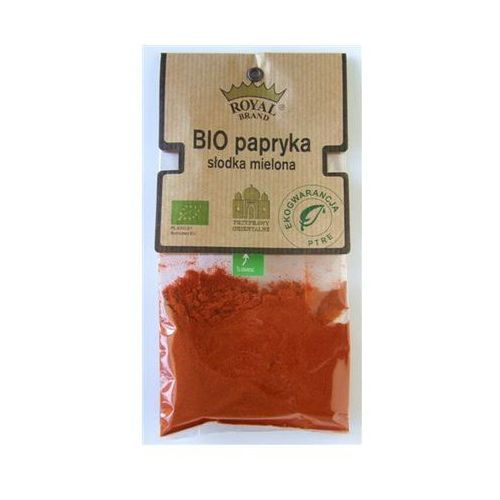 Royal brand Papryka słodka mielona bio, asta 80/90, 30 g