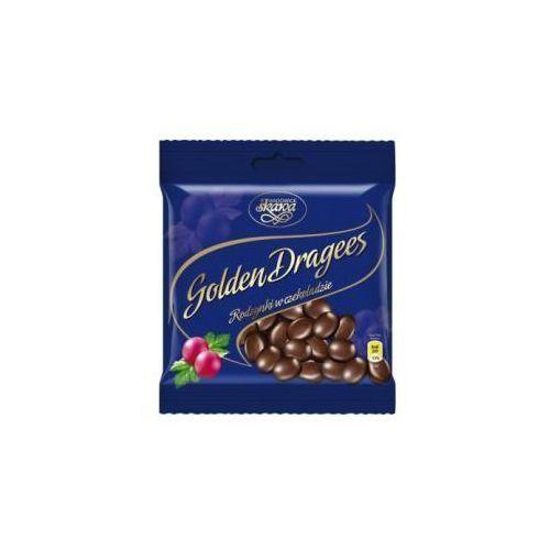Skawa Draże golden dragees rodzynki w czekoladzie 100 g