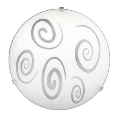 1822 lampa sufitowa spiral szklana marki Rabalux