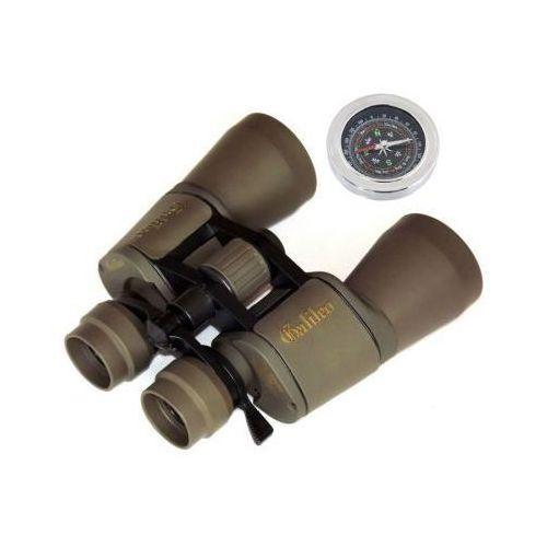 Lornetka Galileo 10-80x50 z Zoom + Kompas Gratis + Mocowanie Statywowe + Pokrowiec i Akcesoria.