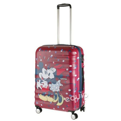 Walizka średnia American Tourister Wavebreaker Disney - Minnie loves Micky (5414847746826)