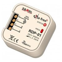 Zamel Exta free - radiowy ściemniacz dopuszkowy 1-kanałowy rdp-01 (5903669041788)