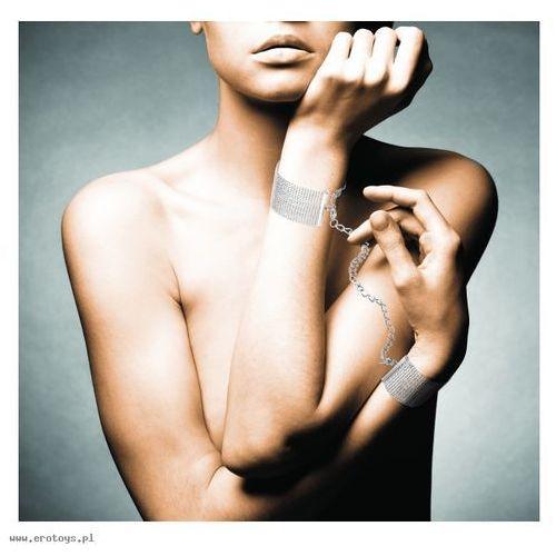 Kajdanki-bransoletki Bijoux Indiscrets Magnifique (srebrne) (8436562010973)