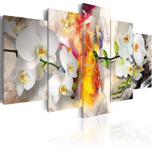 Artgeist Obraz - orchidea i kolory