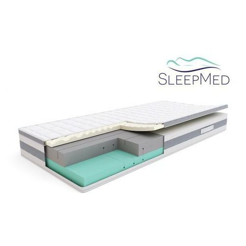 comfort - materac termoelastyczny, piankowy, rozmiar - 140x200 wyprzedaż, wysyłka gratis marki Sleepmed