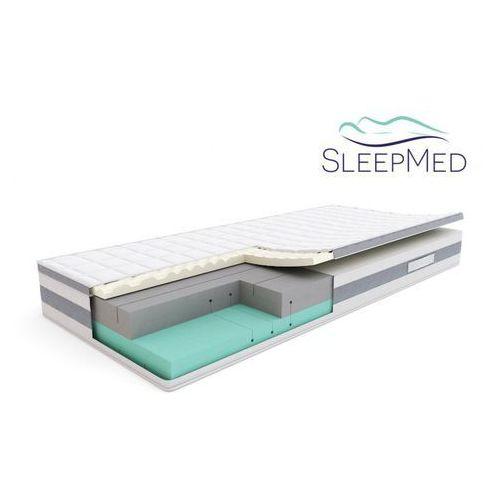 Sleepmed comfort - materac termoelastyczny, piankowy, rozmiar - 80x200 wyprzedaż, wysyłka gratis (5901595011431)