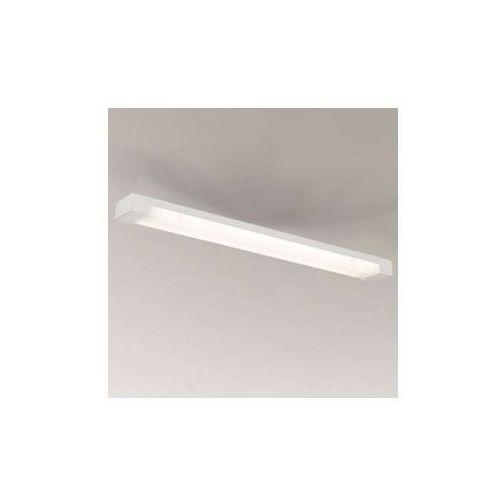 Plafon LAMPA sufitowa SUMOTO 1196/G5/BI Shilo natynkowa OPRAWA prostokątna listwa biała