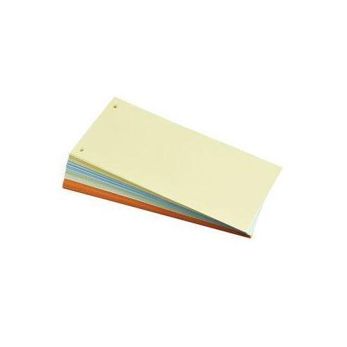 Q-connect Przekładki , karton, 1/3 a4, 240x105mm, 100szt., mix kolorów (5705831144774)