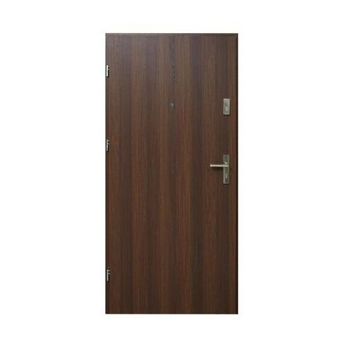 Domidor Drzwi wejściowe hektor 32 orzech premium 90 lewe
