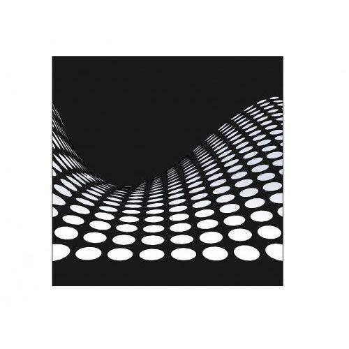 Metalowa dekoracja ścienna Fala, DA-0016