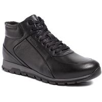 Trzewiki WOJAS - 9166-51 Czarny, kolor czarny