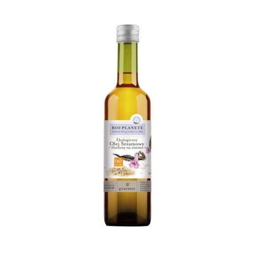 BIO PLANETE 500ml Olej sezamowy Tłoczony na zimno Bio