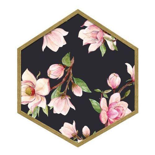 Obraz heksagonalny Magnolia 2 35 x 40 cm, 010 MAGNOLIA 2