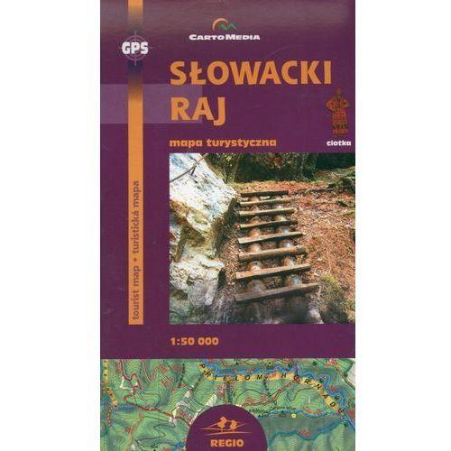 Słowacki Raj Mapa turystyczna 1:50 000