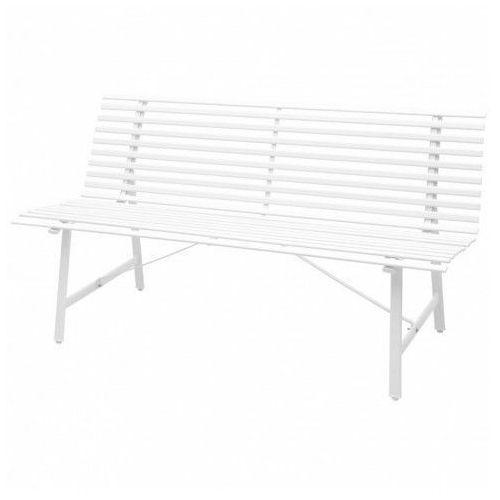 Ławka ogrodowa Fint - biała