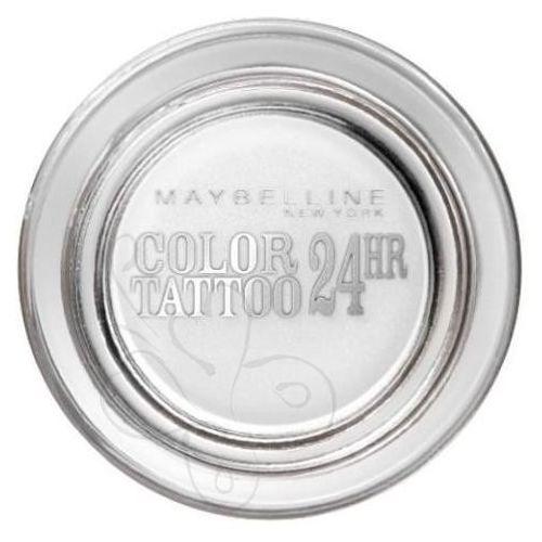 Color tattoo 24hr kremowo-żelowy cień do powiek nr 45 white 4ml wyprodukowany przez Maybelline