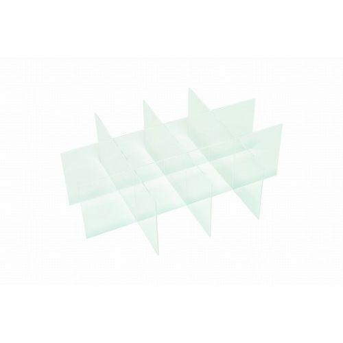 CERSANIT zestaw plastikowych organizerów Smart do szafki podumywalkowej Como 80 S568-036