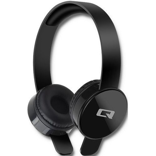 Słuchawki nauszne Qoltec 50817 kolor czarny- natychmiastowa wysyłka, ponad 4000 punktów odbioru!
