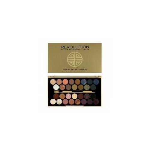 Makeup Revoution, paleta cieni do powiek, Fortune Favours the Brave