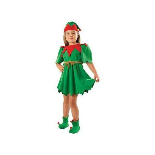 Kostium Elf Zielony sukienka - L - 134/140 cm (5902557252305)